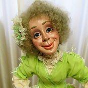 Куклы и игрушки handmade. Livemaster - original item interior doll: Pistachio ice cream. Handmade.