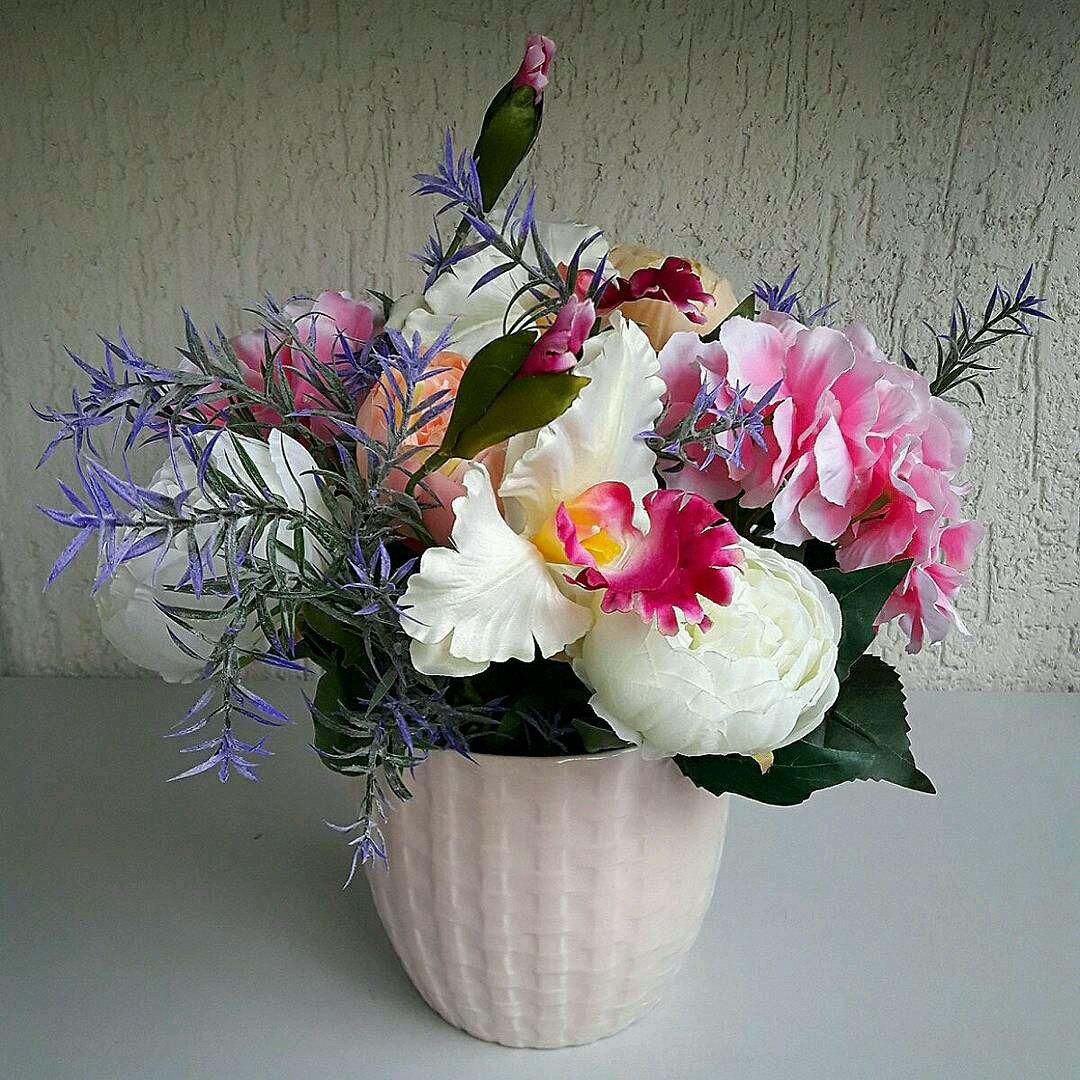Композиции с цветами для фото