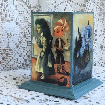 Для дома и интерьера ручной работы. Ярмарка Мастеров - ручная работа Карандашница В гостях у Буратино. Handmade.