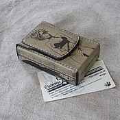 Сувениры и подарки handmade. Livemaster - original item Cigarette case or case for a pack of cigarettes. A manga-style gift. Handmade.