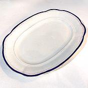 Винтаж handmade. Livemaster - original item Dish SEACREST porcelain 1922-1934 gg: 32h24 cm. Handmade.