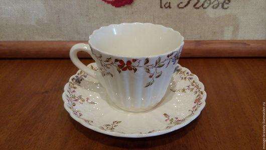 Винтажная посуда. Ярмарка Мастеров - ручная работа. Купить 1940 Чайная пара COPELAND SPODE. Handmade. Copeland spode, staffordshire