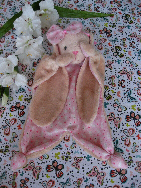 Комфортер зайка. Игрушка-одеялко для новорожденного, Игрушки, Самара, Фото №1
