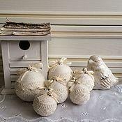 Подарки к праздникам ручной работы. Ярмарка Мастеров - ручная работа шары новогодние. Handmade.