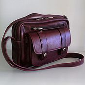 Сумки и аксессуары handmade. Livemaster - original item Leather bag 177. Handmade.
