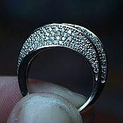 Украшения handmade. Livemaster - original item Ring with diamonds. Handmade.