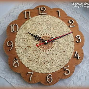 Для дома и интерьера ручной работы. Ярмарка Мастеров - ручная работа Часы 2. Handmade.