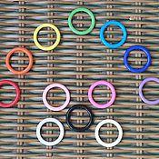 Материалы для творчества ручной работы. Ярмарка Мастеров - ручная работа Кольца цветные пластиковые. Handmade.