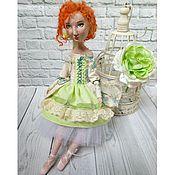 Куклы и игрушки ручной работы. Ярмарка Мастеров - ручная работа Будуарная кукла Элиза. Handmade.
