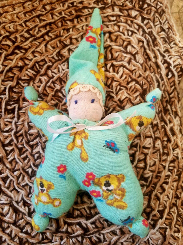Кукла бабочка. Наполнение овечья шерсть, Вальдорфские куклы и звери, Санкт-Петербург,  Фото №1