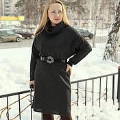 "Одежда handmade. Livemaster - original item Knitted dress ""Cozy winter"". Handmade."