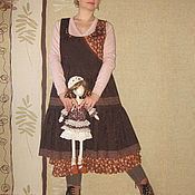 """Одежда ручной работы. Ярмарка Мастеров - ручная работа Бохо-сарафан """"Bohemia"""". Handmade."""