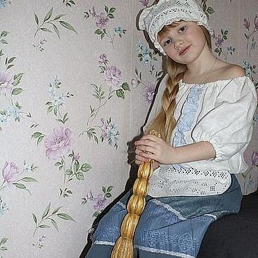 """Работы для детей, ручной работы. Ярмарка Мастеров - ручная работа Костюм для """"Золушки"""" до бала. Handmade."""
