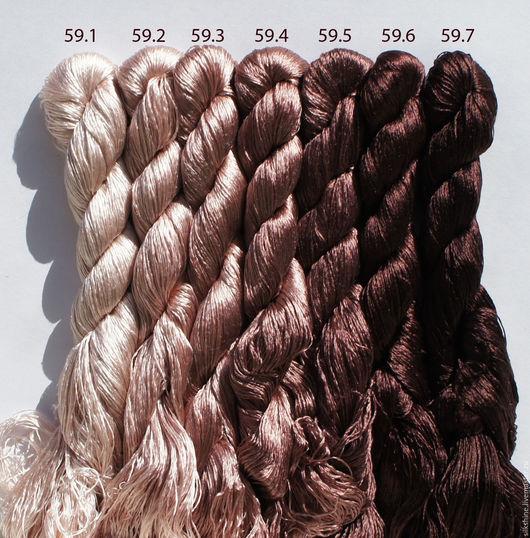 Вышивка ручной работы. Ярмарка Мастеров - ручная работа. Купить Шёлковые нитки. Handmade. Нитки, шелковые нитки, нитки для вышивания