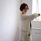 Одежда ручной работы. Ярмарка Мастеров - ручная работа Пальто Сливочное мороженое. Handmade.