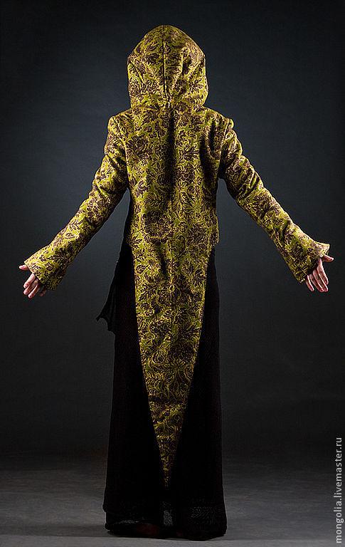 Пиджаки, жакеты ручной работы. Ярмарка Мастеров - ручная работа. Купить Ptah жакет эльфийский M. Handmade. Жакет