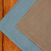 Материалы для творчества ручной работы. Ярмарка Мастеров - ручная работа Ткань для пэчворка В клеточку. Handmade.