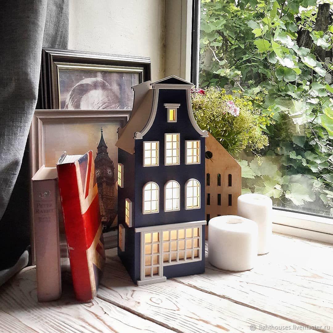 Set for creativity: Dutch house-lamp ' Harry', Creator\\\\\\\'s Kit, Rostov-on-Don,  Фото №1