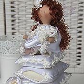 Куклы и игрушки ручной работы. Ярмарка Мастеров - ручная работа Свадебная принцесса на горошине.. Handmade.