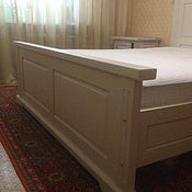 Для дома и интерьера handmade. Livemaster - original item Bed from solid beech Classic. Handmade.