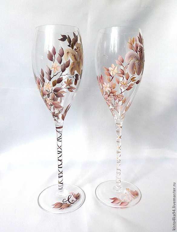 фужеры для вина и шампанского фото