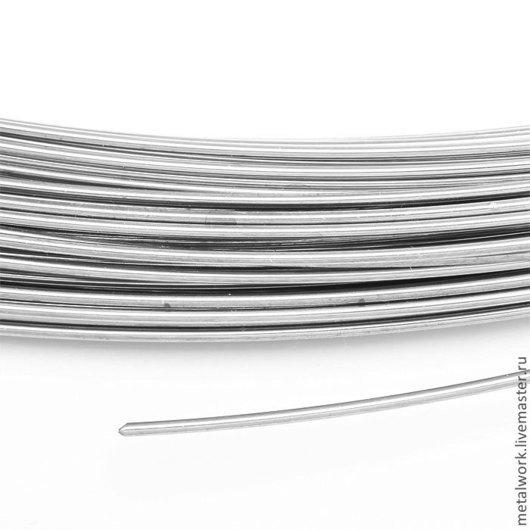 Другие виды рукоделия ручной работы. Ярмарка Мастеров - ручная работа. Купить Припой серебряный в проволоке 0.8 мм. Handmade.