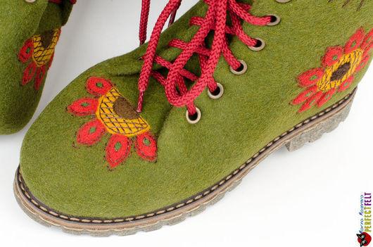 """Ботинки из войлока """"Frida"""""""