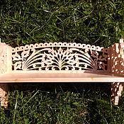 Для дома и интерьера ручной работы. Ярмарка Мастеров - ручная работа ПолочкаV15 для ресивера.. Handmade.