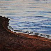 Картины и панно handmade. Livemaster - original item oil painting Sea. Love. Handmade.