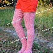 Аксессуары handmade. Livemaster - original item Stockings: Down stockings