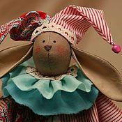 Куклы и игрушки ручной работы. Ярмарка Мастеров - ручная работа Заяц клоун. Handmade.