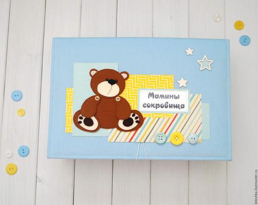 Подарки для новорожденных, ручной работы. Ярмарка Мастеров - ручная работа. Купить Коробка для хранения. Handmade. Коробка для хранения, коробочка для хранения