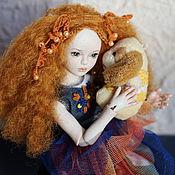 Куклы и игрушки ручной работы. Ярмарка Мастеров - ручная работа Карина (фарфоровая шарнирная кукла). Handmade.