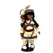 Винтаж handmade. Livemaster - original item A rare porcelain miniature doll.Dolls of Canada Maple North.. Handmade.