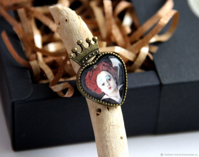 Кольцо Серьги  Красная королева Алиса в стране чудес, Украшения, Благовещенск,  Фото №1