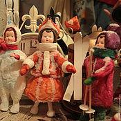 Куклы и игрушки ручной работы. Ярмарка Мастеров - ручная работа Ватные винтажные игрушки. Handmade.