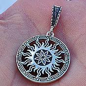 Украшения handmade. Livemaster - original item Talisman Alatyr and Tree of Life. Silver 925 art.1013402. Handmade.