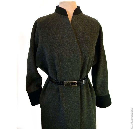 Верхняя одежда ручной работы. Ярмарка Мастеров - ручная работа. Купить Пальто в  японском стиле. Handmade. Купить модное пальто
