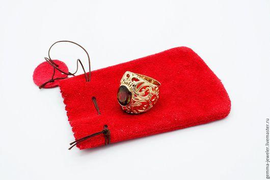 Кольца ручной работы. Ярмарка Мастеров - ручная работа. Купить Золотой перстень Бразильский карнавал. Handmade. Перстень с турмалином