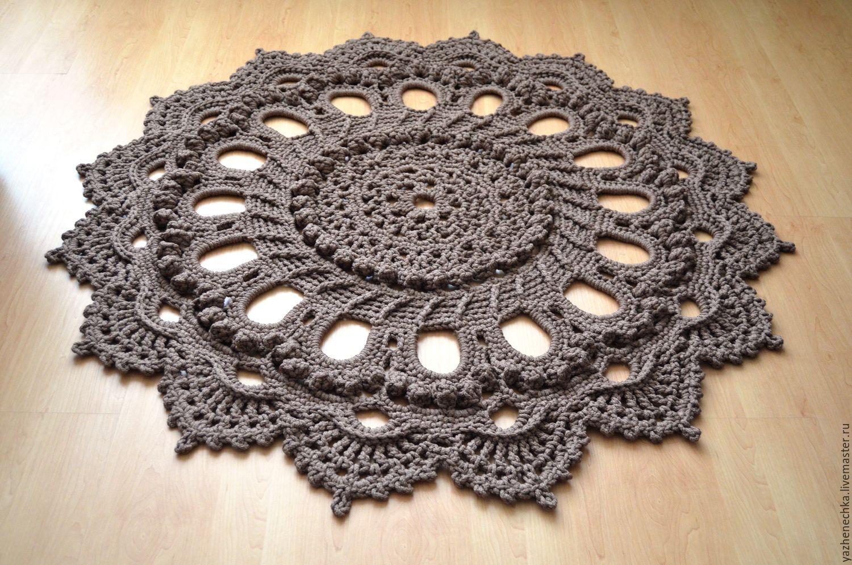 Осинка вязание крючком ковры 4