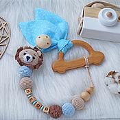 Куклы и игрушки handmade. Livemaster - original item Newborn gift. Rodent with a name, a nominal rodent-lion Cub. Handmade.