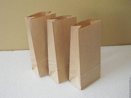 Упаковка ручной работы. Ярмарка Мастеров - ручная работа. Купить Крафт пакет, 17x8x5 см. Handmade. Коричневый, крафт пакет