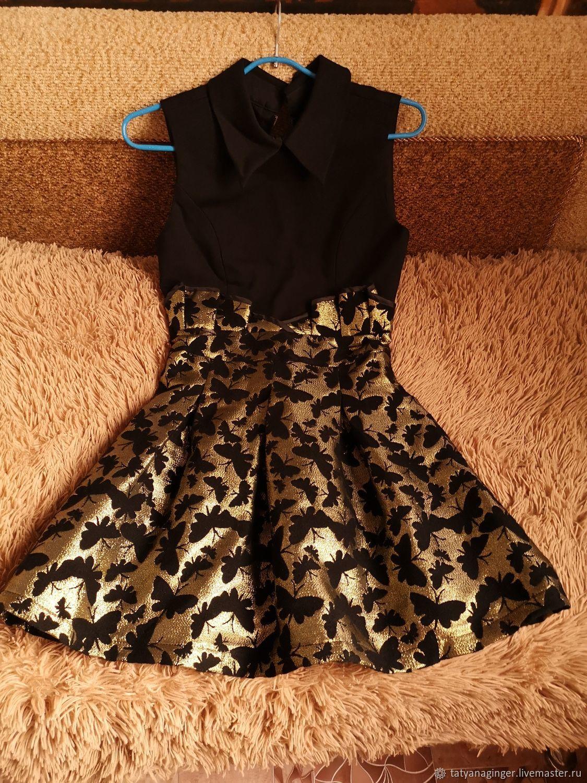 Винтаж: Платье праздничное,новогоднее 40-42 размер, Винтажная одежда, Камызяк,  Фото №1
