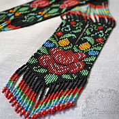 "Украшения handmade. Livemaster - original item Herdan-Gaitan ""Flower"", decoration on the neck. Handmade."