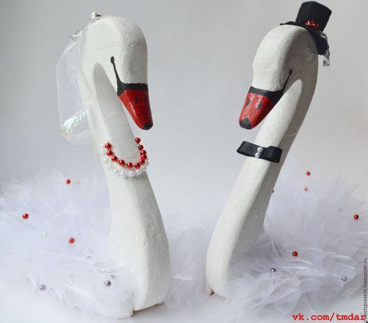 Подарки на свадьбу ручной работы. Ярмарка Мастеров - ручная работа. Купить Свадебные лебеди. Handmade. Белый, лебединая верность, пеноплекс