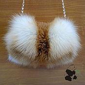 Аксессуары handmade. Livemaster - original item Spectacular fur clutch fur red Fox. Stylish ladies accessory. Handmade.