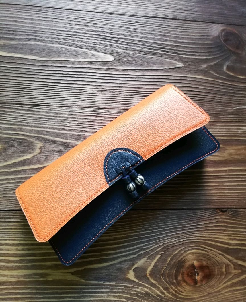 Clutch bag /leather handbag / leather clutch/ clutch leather bag, Clutch, Clutches, Naberezhnye Chelny,  Фото №1