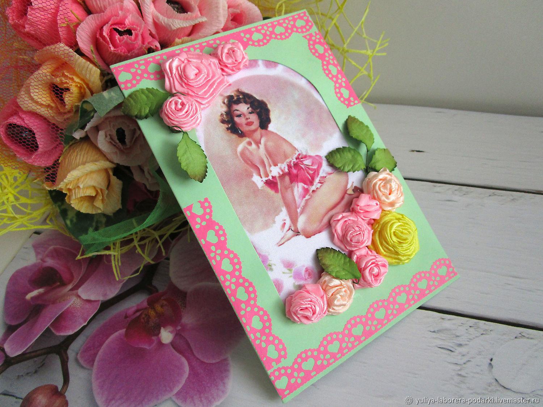 Greeting card with a girl Minx, Cards, Nizhny Novgorod,  Фото №1