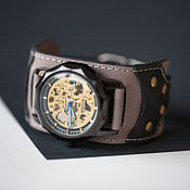 Украшения handmade. Livemaster - original item Batman wristwatch, mechanical. Handmade.
