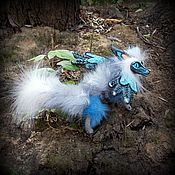 Куклы и игрушки ручной работы. Ярмарка Мастеров - ручная работа Лис по имени Прохладный Ветерок. Handmade.